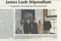 James Loeb scholarship
